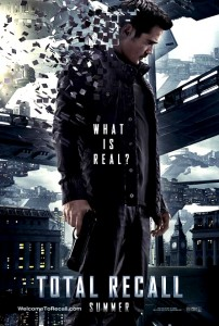 Total Recall Poster 2012