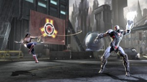 Injustice: Gods Among Us - Wonder Woman vs Cyborg